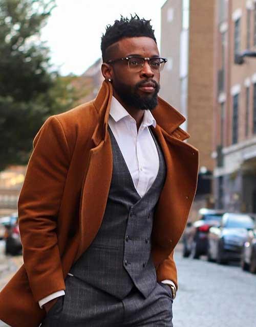 hard part fade for black men