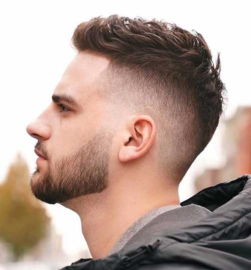 high fade haircut 16