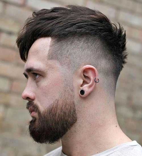 high fade haircut 23