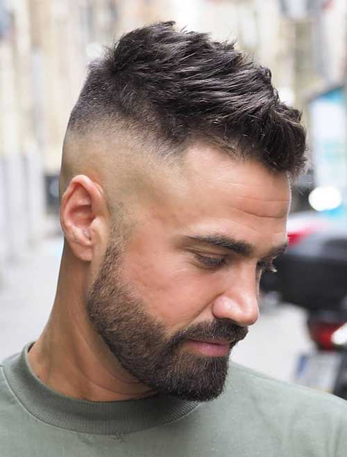 medium length hairstyles for men 18