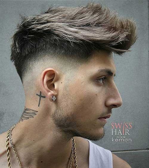 medium length hairstyles for men 20