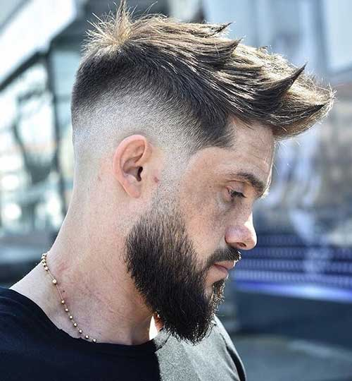 medium length hairstyles for men 25