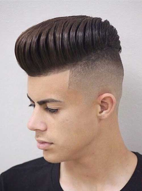 high fade and modern pompadour hairmanz