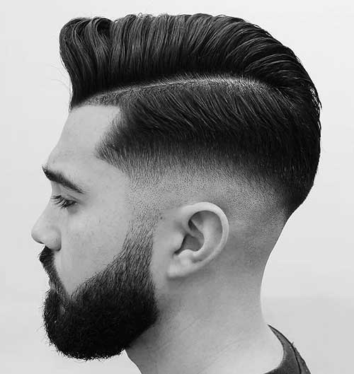 side part comb over low taper fade 4