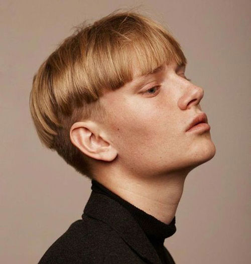 short haircuts for men (bowl cut 201)