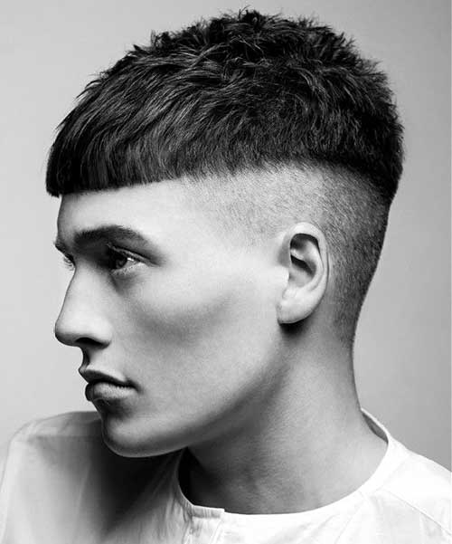 bowl cut short haircut for men 1