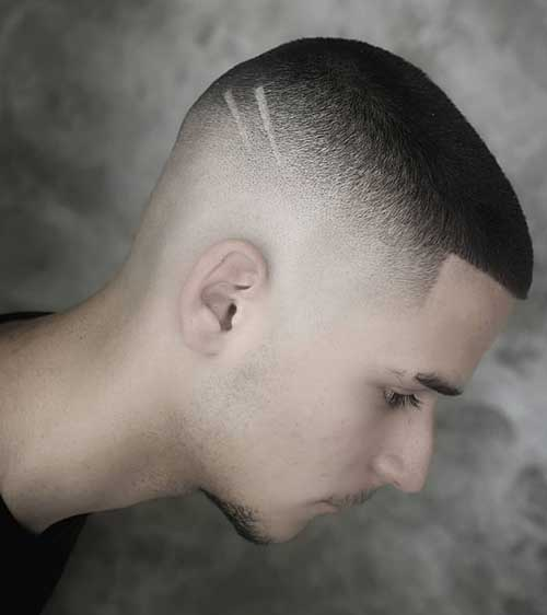 buzz cut short haircut for men 1