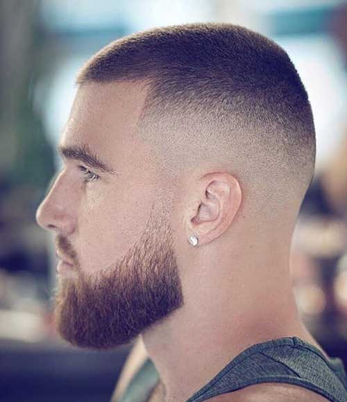 buzz cut short haircut for men 4