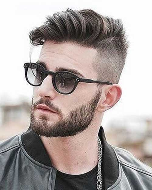 comb over short haircut for men 4