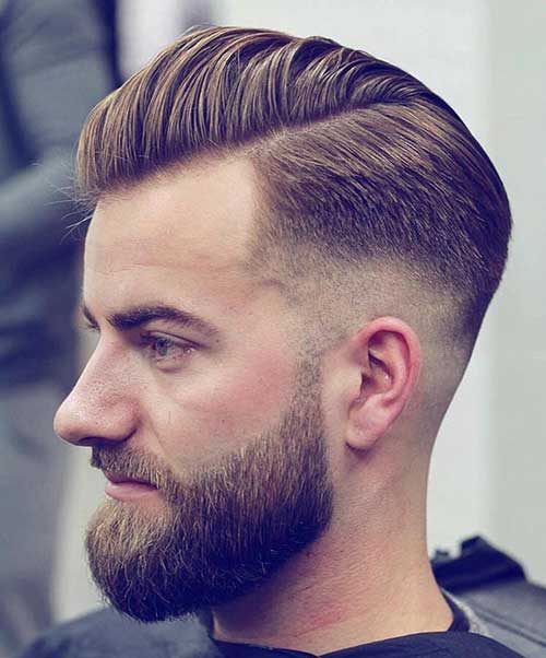 comb over short haircut for men 5