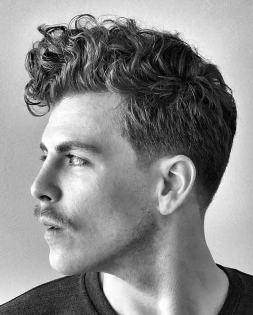 30 Trendy Curly Hairstyles For Men 2020 Collection Hairmanz