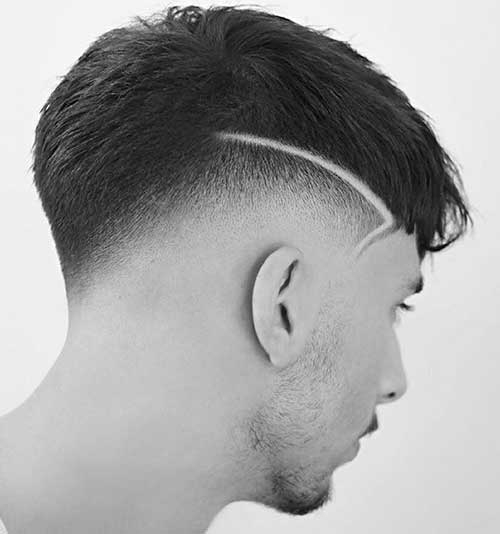fade short haircut for men 1