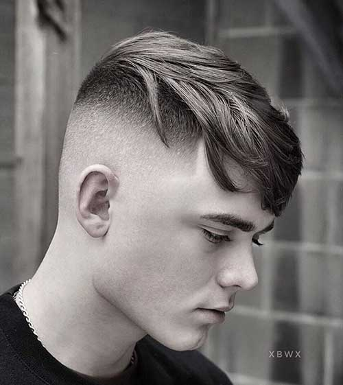 fade short haircut for men 10