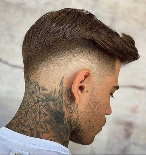 fade short haircut for men 3
