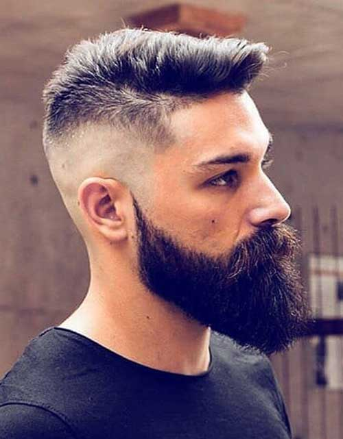fade short haircut for men 4