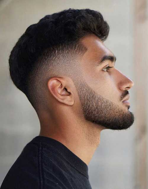 fade short haircut for men 5