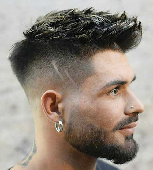 fade short haircut for men 9