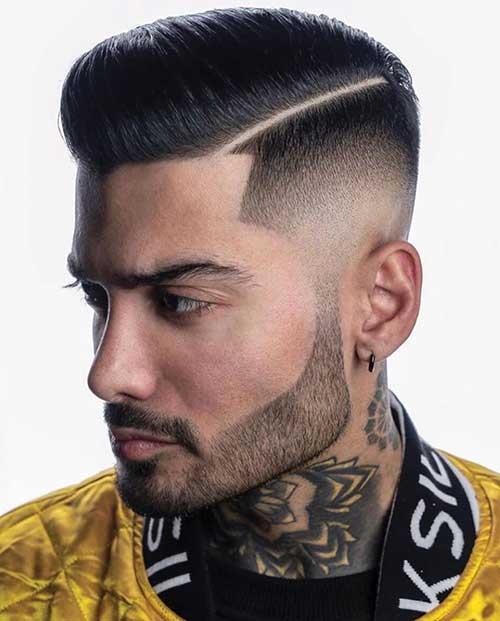 hard part short haircut for men 1