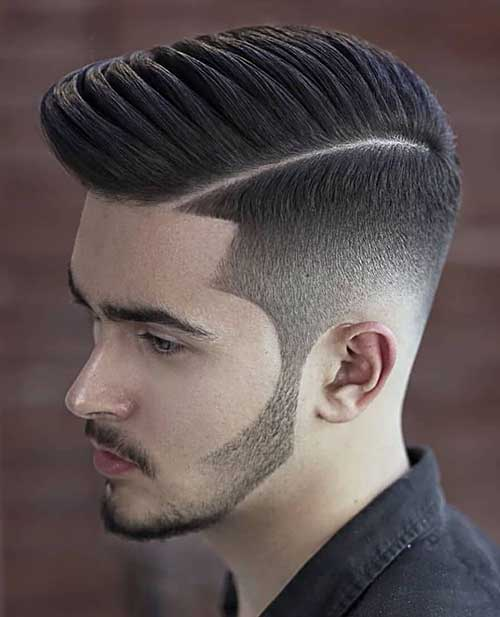 hard part short haircut for men 3