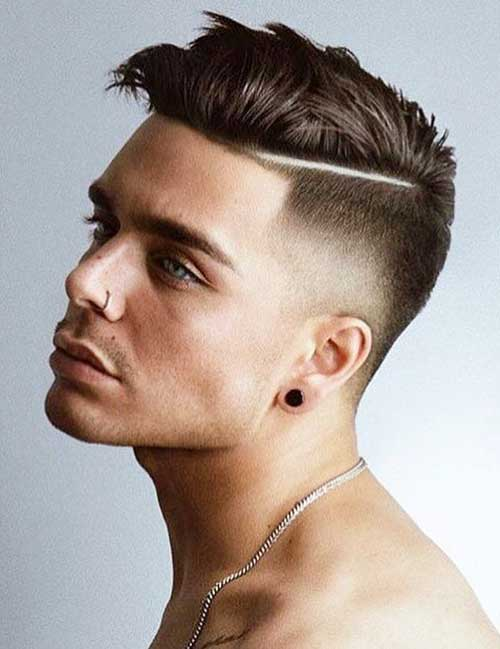 hard part short haircut for men 4