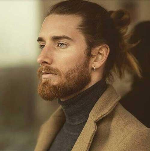 long men hairstyles man bun 3