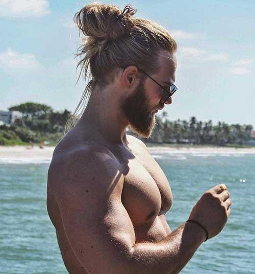 long men hairstyles man bun 6