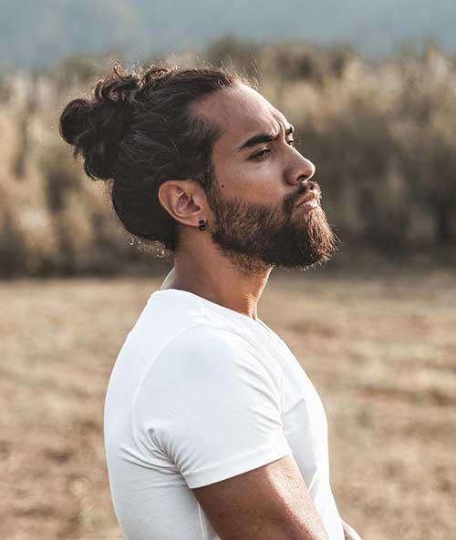 long men hairstyles man bun 7