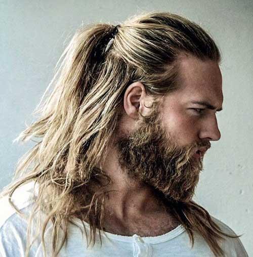 long men hairstyles half up 2