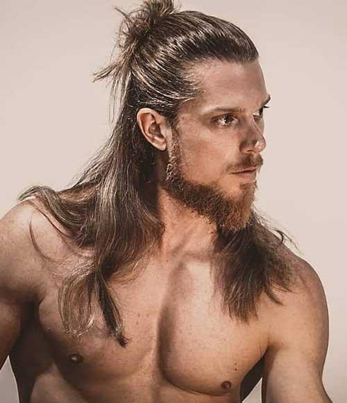 long men hairstyles half up 5