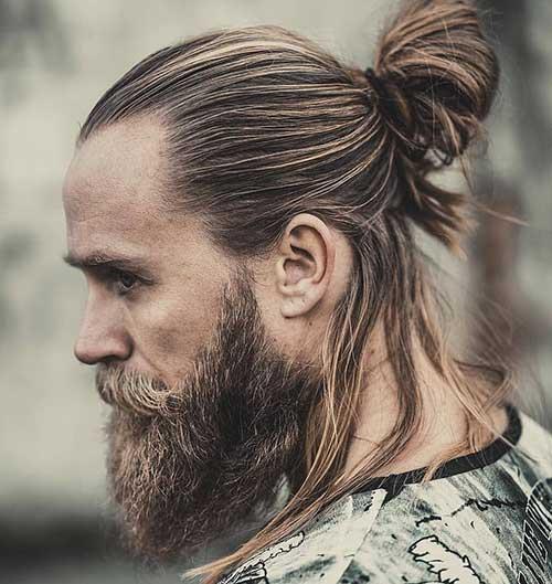long men hairstyles half up 6