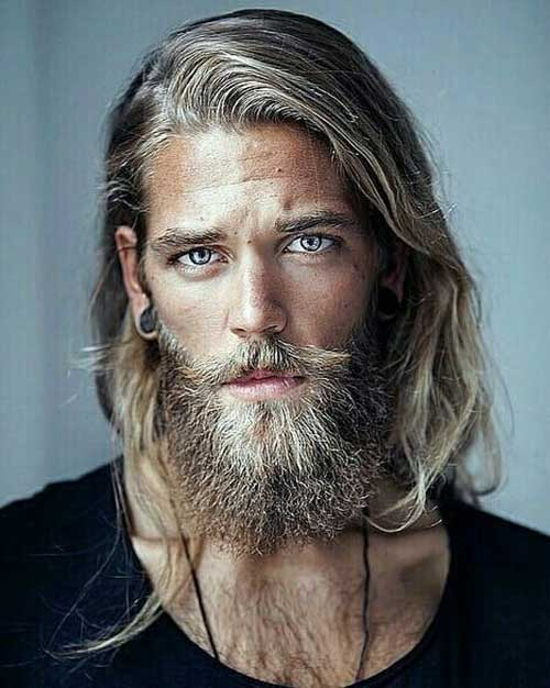 long men hairstyles with beard 5
