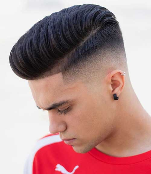 pompadour short haircut for men 5