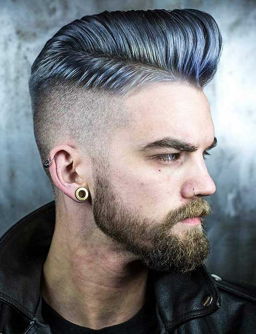 pompadour short haircut for men 6