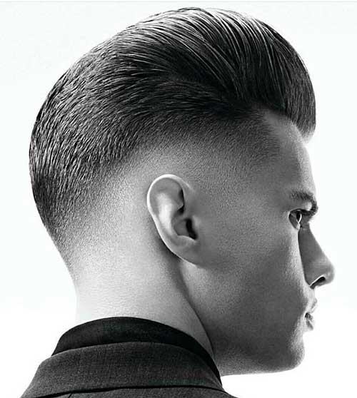 pompadour short haircut for men 7