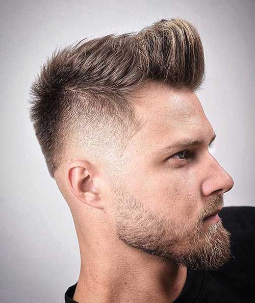 short quiff short hairstyles for men 1