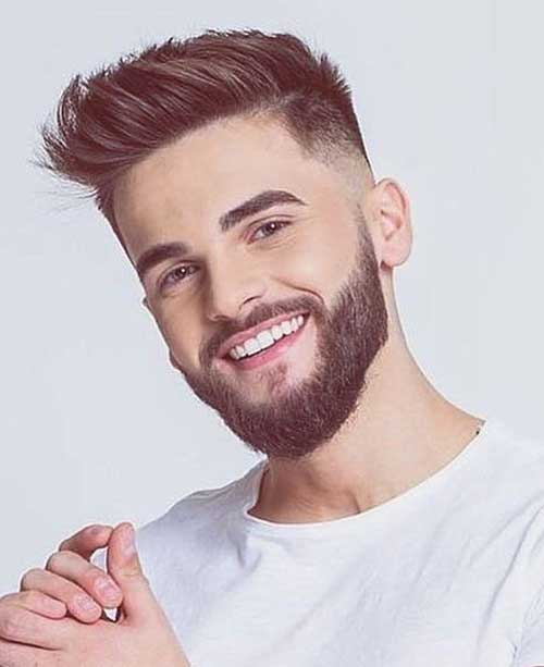 short quiff short hairstyles for men 4