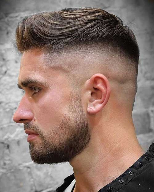 short quiff short hairstyles for men 5