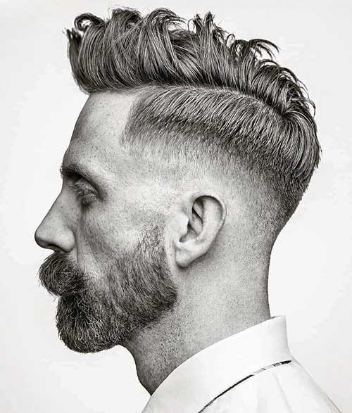 short quiff short hairstyles for men 7