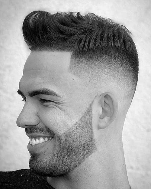 short quiff short hairstyles for men 9