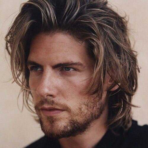 shoulder length long men hairstyles 4