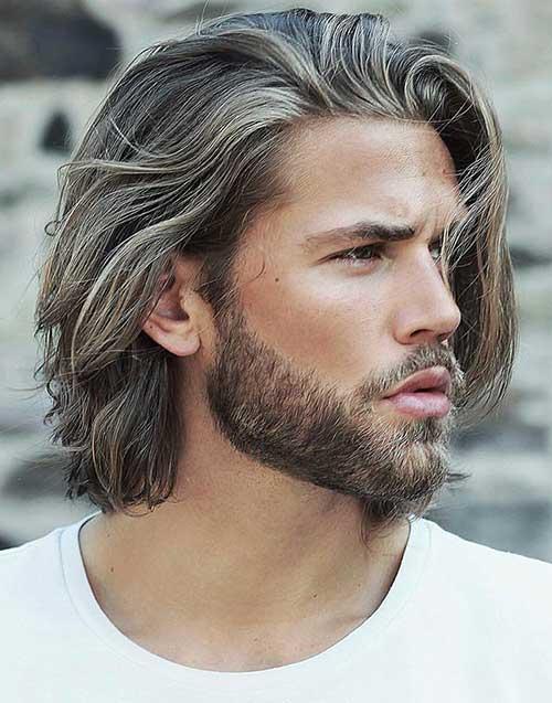 shoulder length long men hairstyles 6