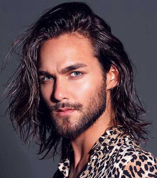 shoulder length long men hairstyles 7
