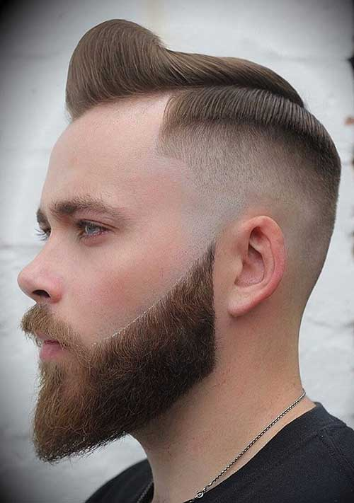side part short haircut for men 6