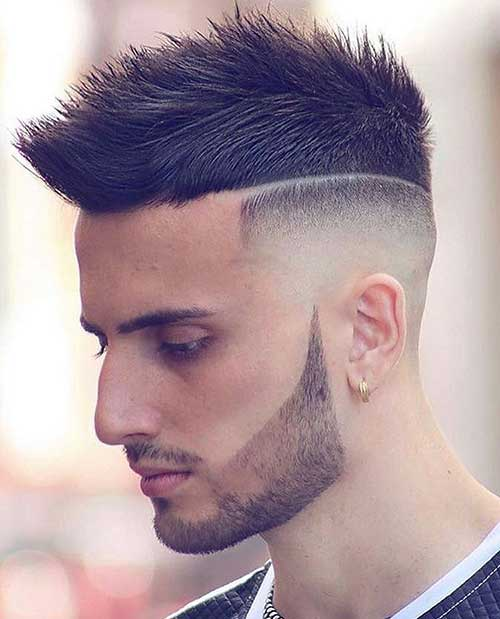 spiky short haircut for men 1