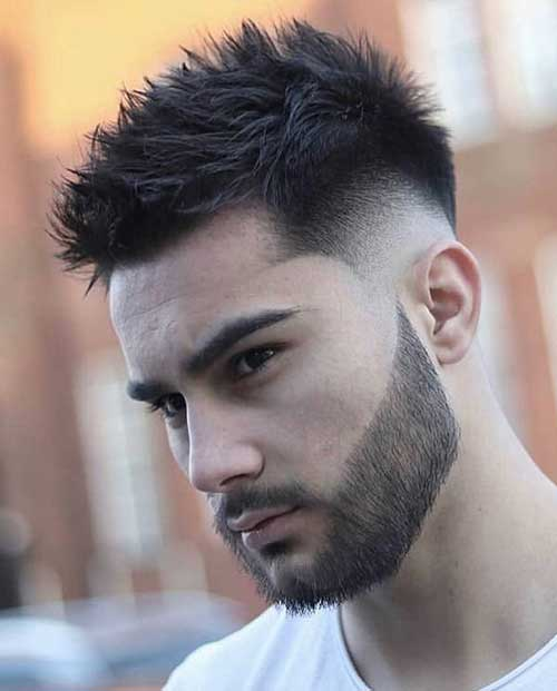 spiky short haircut for men 3