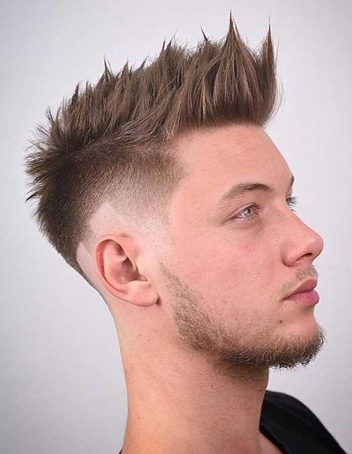 spiky short haircut for men 4