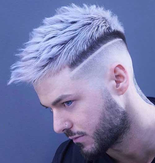 spiky short haircut for men 6