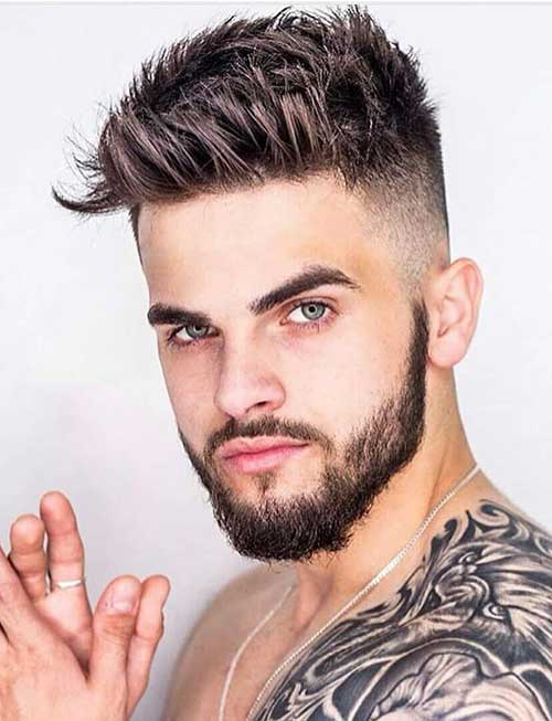 spiky short haircut for men 7