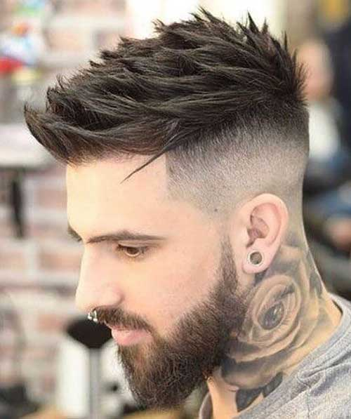 spiky short haircut for men 8