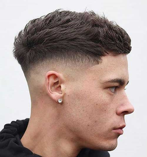 textured crop messy layered short haircuts for men